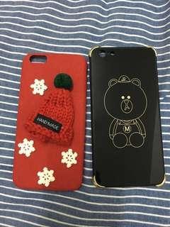 iPhone 6s plus手機殼 熊大 聖誕帽造型 不拆售
