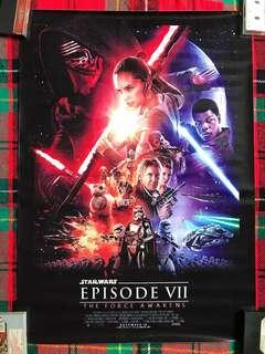 Star Wars The Force Awakens Pvc Poster
