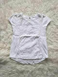 Cotton on white tops