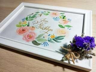 Personalised handpainted gift