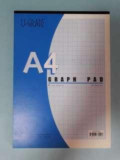 U-grade Graph Pad 1mm square