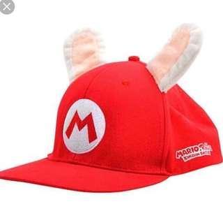 New MARIO + Rabbids Kingdom Battle Hat Cap Nintendo