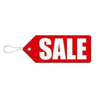 All items sale! All items NEGOTIABLE!