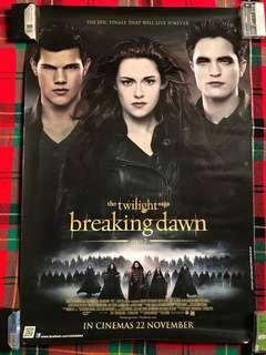 Twilight Breaking Dawn Officials Poster