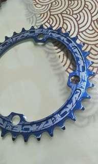 Race face narrow wide chain ring 104 bcd 34 teeth