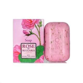 🌹現貨🌹保加利亞Biofresh玫瑰公主香皂 (100g) (Natural Soap with rose water Rose of Bulgaria Biofresh)
