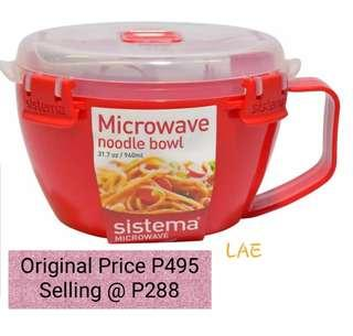 SISTEMA Microwave Noodle Bowl 940mL