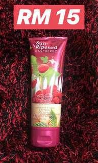 Bath & Body works body lotion sun ripened raspberry