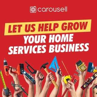 Let us help grow your Home Services business