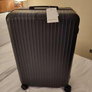 Rimowa Essential check in L 85L Matt black suitcase  現貨