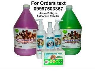 Complete dog hygiene set