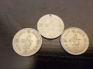 香港1973、74、75年大壹圓幣