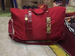 moschino travel bag