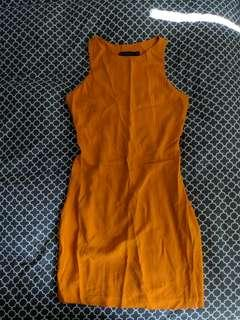 Orange Zara Dress