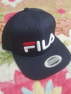 'FILA' Sportcap Biru Gelap
