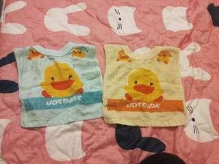 圍兜毛巾兩條