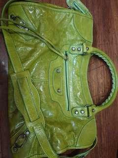 Balenciaga Part Time in Lime color