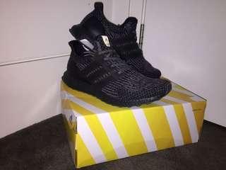 Adidas Utraboost 3.0 - Black Silver