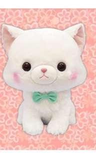 Myuu Mew Cat Big Plushie White