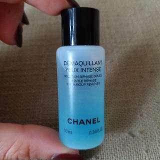 Chanel DÉMAQUILLANT YEUX INTENSE GENTLE BI-PHASE EYE MAKEUP REMOVER 雙效眼部卸妝液 10ml 試用裝 [全新] **只有1支**