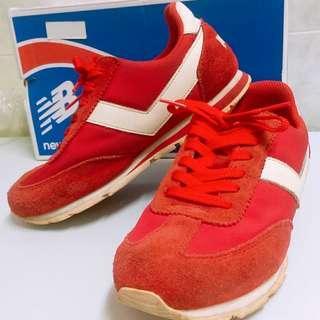 PONY 女生運動鞋 球鞋 休閒鞋 瑜伽 健身房 網球鞋 慢跑鞋 紅色 白色
