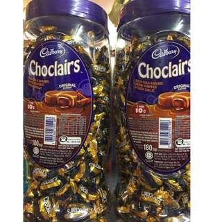 Cadbury ChocoClairs Bottle 180g
