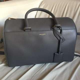 (接近全新)YSL Saint Laurent Duffle Bag 可手挽 斜揹