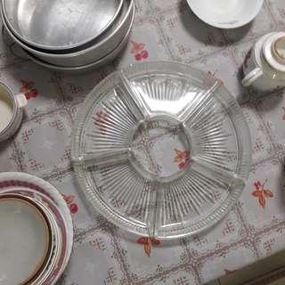Glass food trays