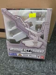 Bandai soul stage act trident clear version for s.h.figuarts