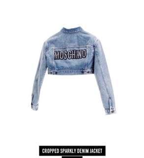 H&M x Moschino denim jacket
