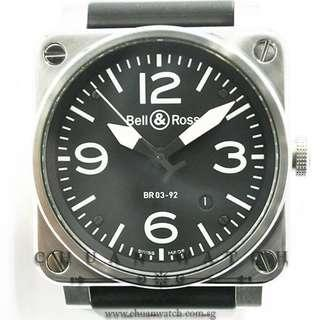 Pre-Owned Bell & Ross Aviation Automatic 42mm BR03-92
