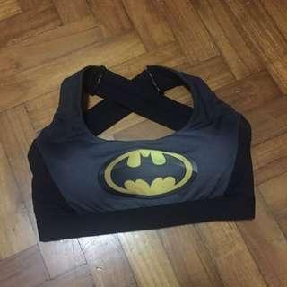 Batman Sports Bra