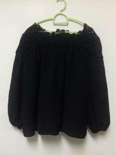 JUMEIYIPIN Black Lace Blouse #DeclutterWithJohanis #XMAS50