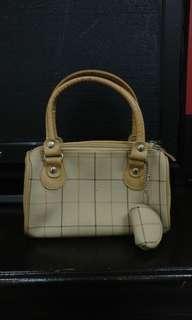 Small Handbag - Cream