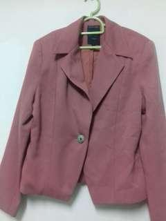 FABRIQUE EUROPE Pink Blazer #DeclutterWithJohanis #XMAS50
