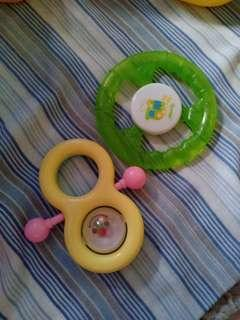 Baby Teether & Rattle Toy