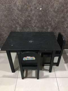 Ikea kid table and chairs