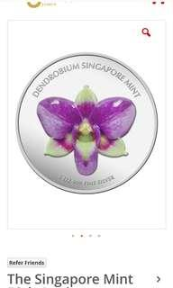 The Singapore Mint 50th anniversary medallion