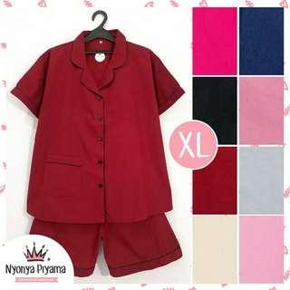 Piyama Celana Pendek XL Jumbo