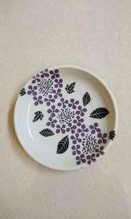 🚚 日式鄉村風小瓷盤/碟 水果盤 蛋糕碟