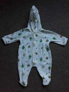 Baby frogsuit