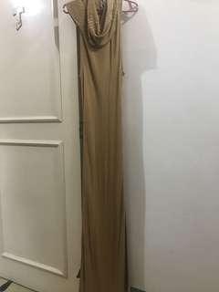 BEBE light-knit long dress