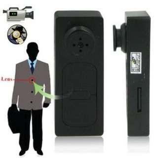 Mini Spy Button Camera FHD1080p Video Recorder