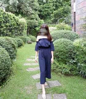 Blue terno