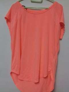 H&M SPORT Orange Top #DeclutterWithJohanis #XMAS50