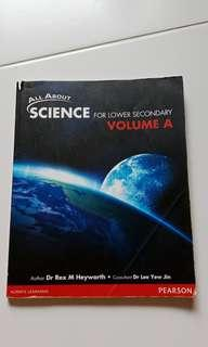 All About Science For Lower Secondary Volume A