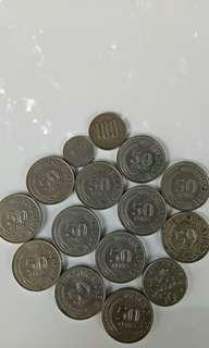 Singapore olds coins