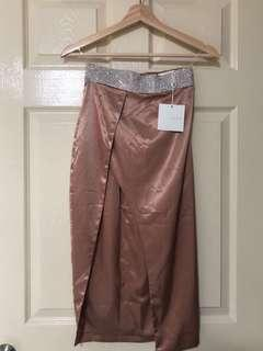 DIAMOND ROSE GOLD SKIRT