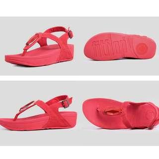 Clear Stock Red Fitflop 36 only