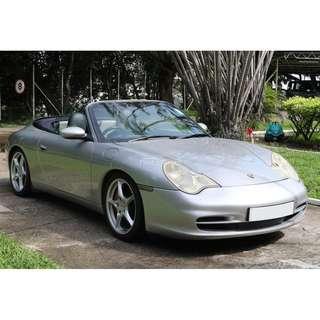 2002 Porsche 911 996 Carrera 4 C4 Cab